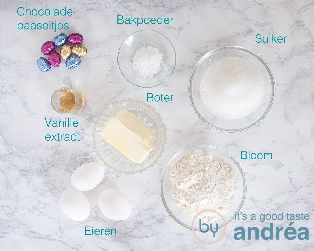 Ingrediënten tulband voor Pasen
