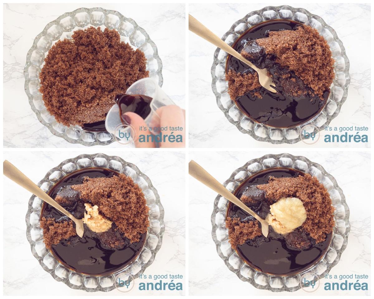 Prepare the soy sauce marinade