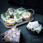 4 soorten luxe high tea sandwiches