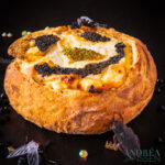 Halloween kaas brood
