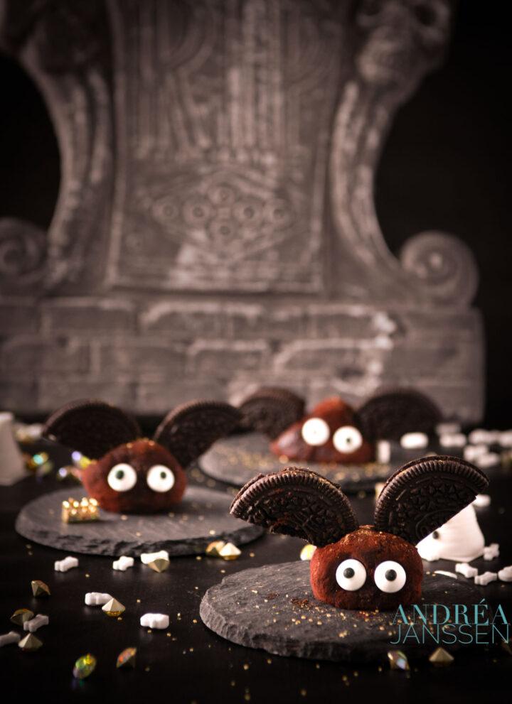 Gezouten karamel chocolade truffels