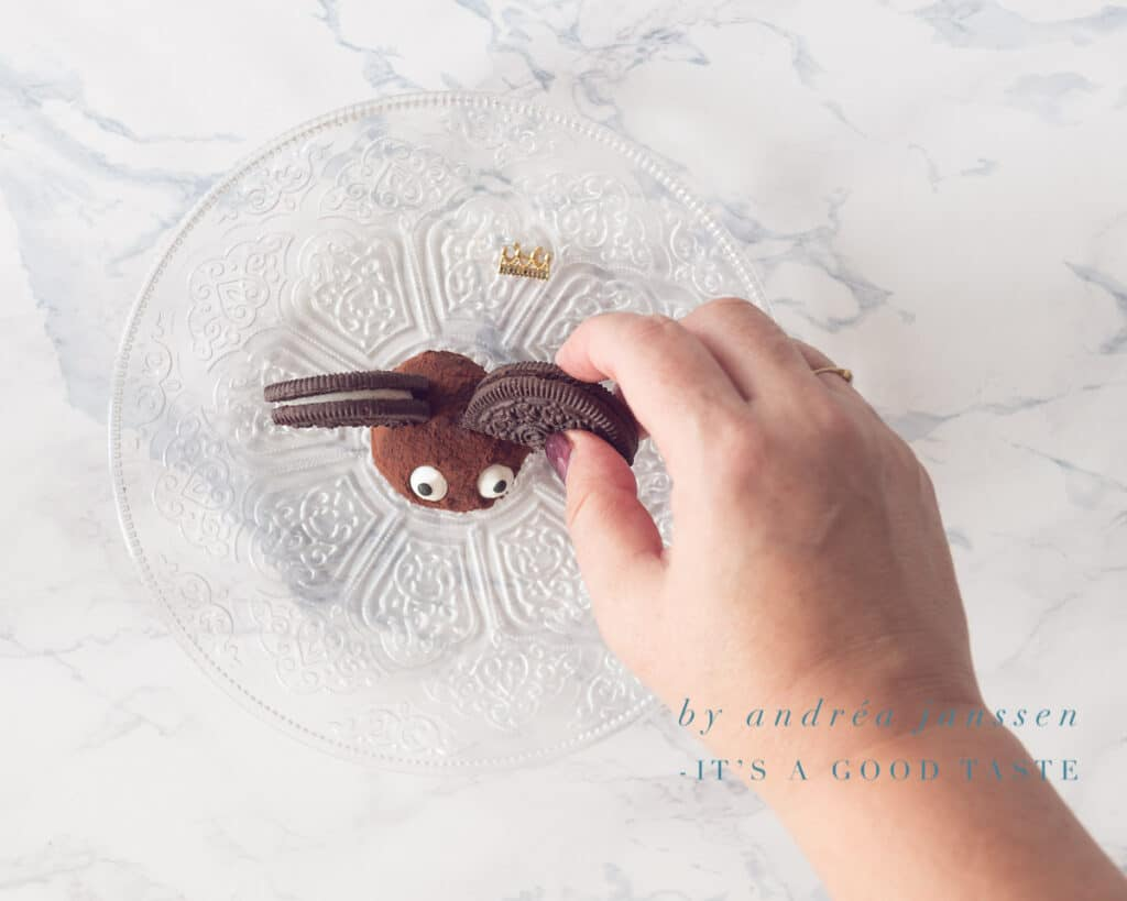 Gezouten karamel chocolade truffels stap 4