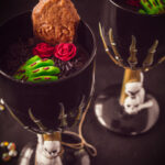 pin Graveyard dessert with gingerbread cookies