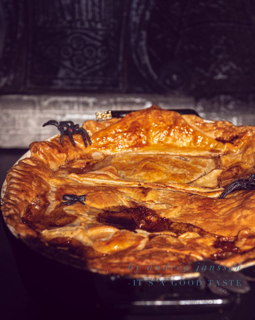 Halloween recipe: Guinness and steak pie