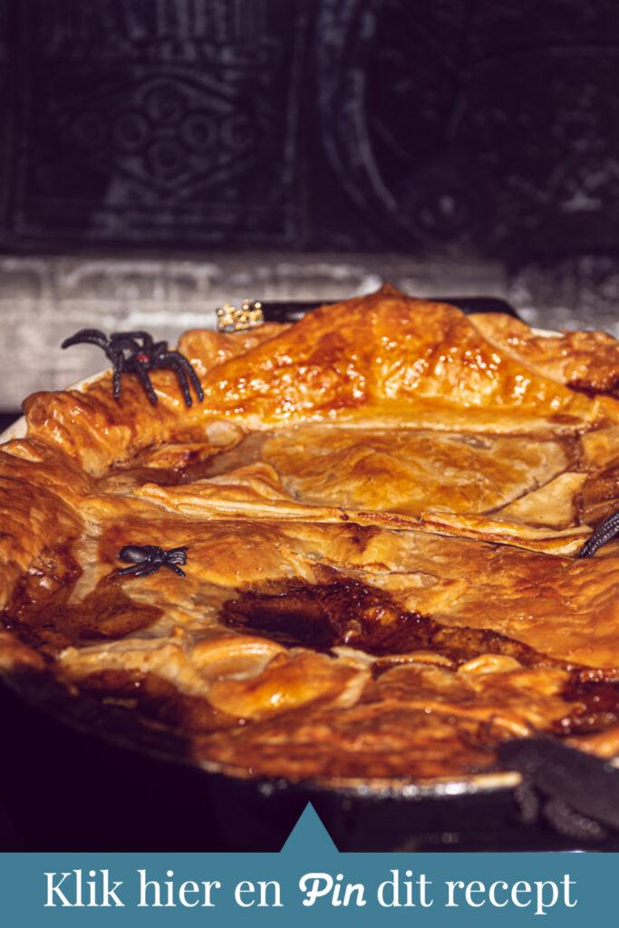 c ta Halloween recept: Guinness en steak pie