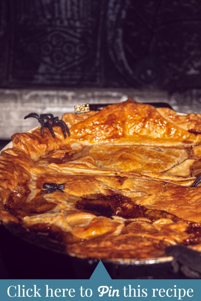 c t a Halloween recipe: Guinness and steak pie