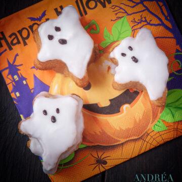 Halloween cake spookjes