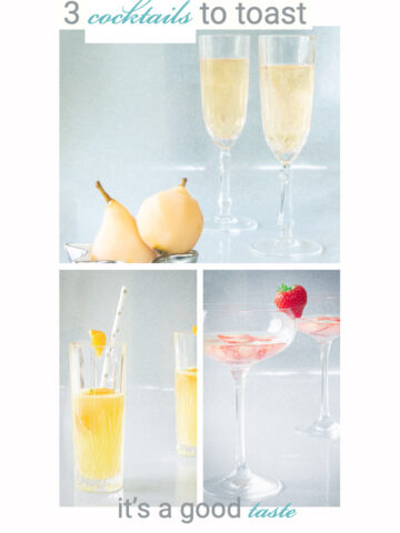 3 delicious cocktails to toast