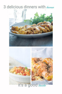 3 delicious dinners with tuna
