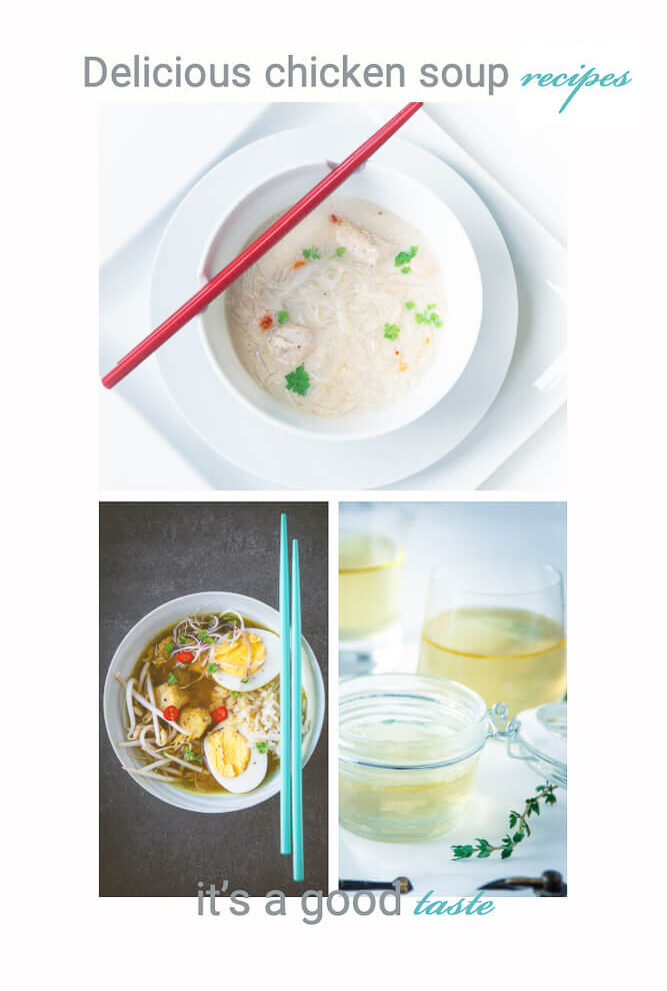 Delicious chicken soup recipes