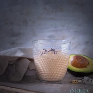 Chocolade kokos smoothie