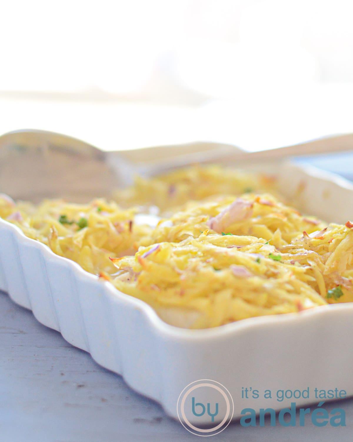 Kabeljauwfilet met aardappel rosti - cod filet with rosti-bewerkt