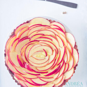 rozentaart van appels