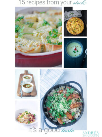 15 recipes from the pantry
