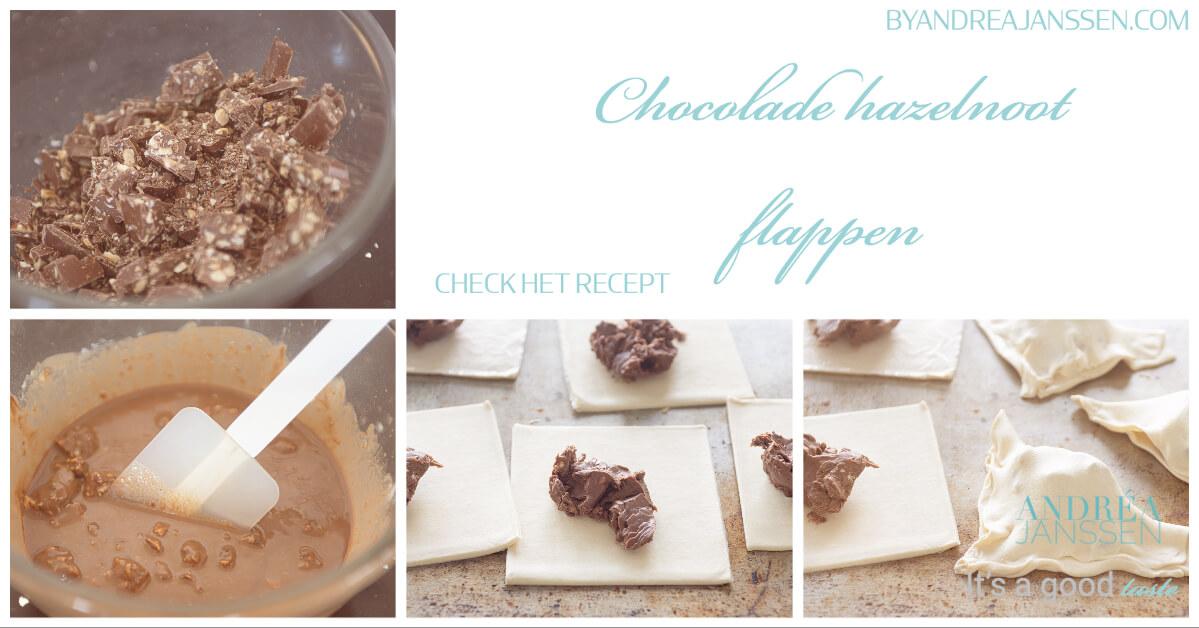 Chocolade hazelnoot flappen