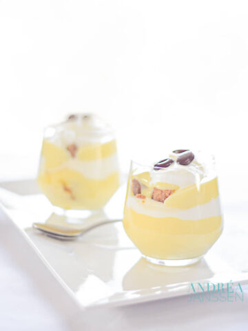 Irish koffie trifle