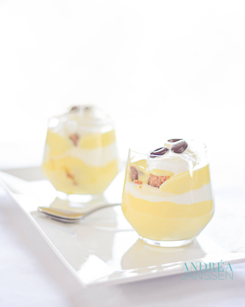 Irish koffie trifle