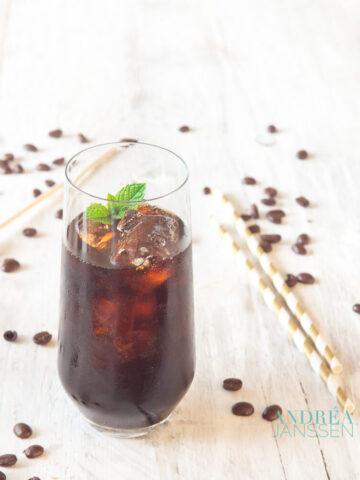 Mexican ice coffee rocks