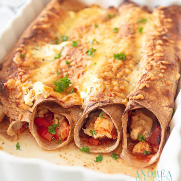 enchilada kip ovenschotel