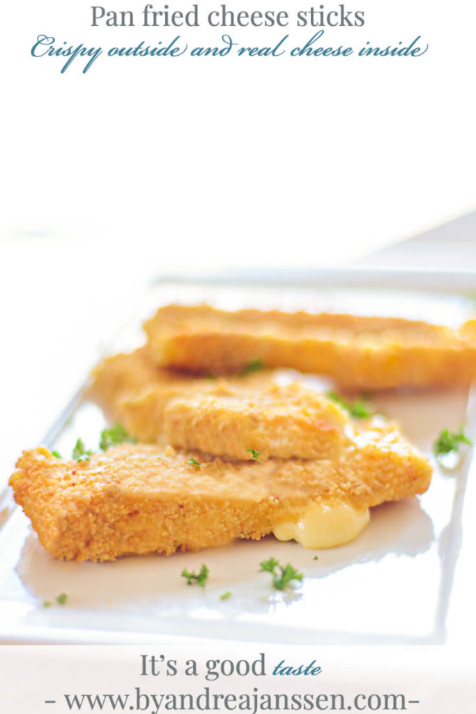 pan fried cheese sticks