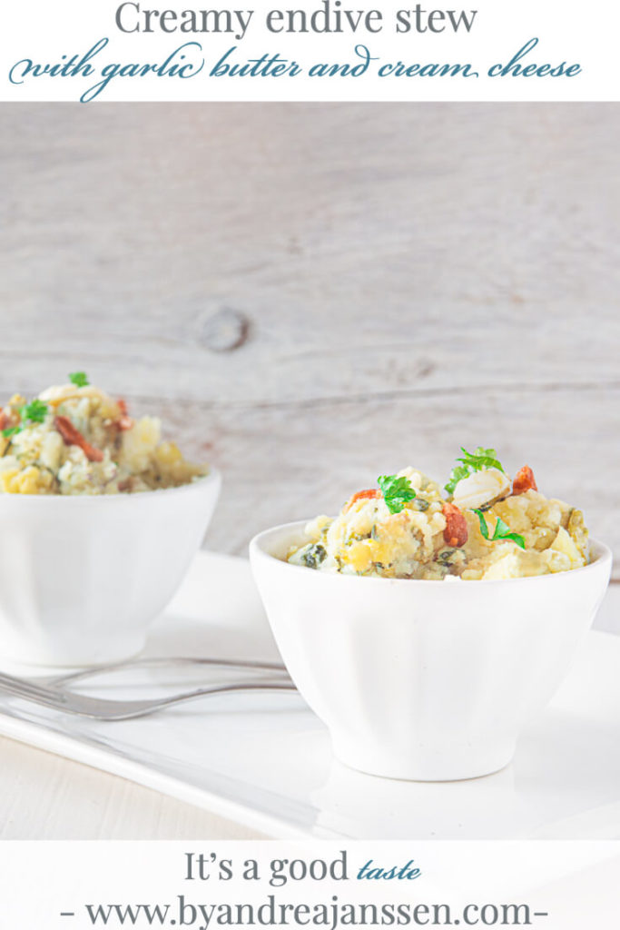 Creamy endive stew