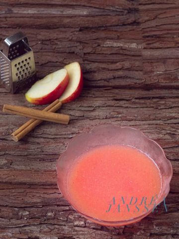 sugarfree Pink apple butter