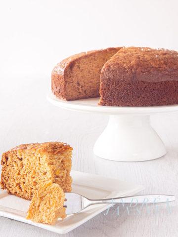 orange cake with olive oil