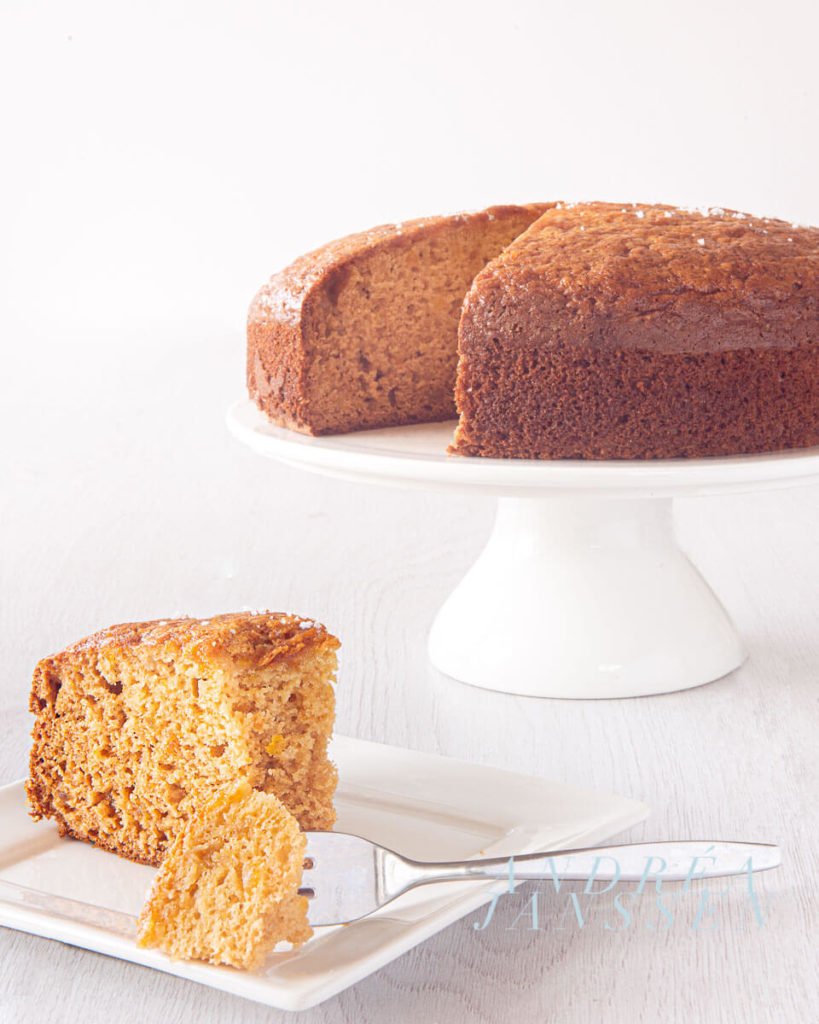 orange cake with olive oil