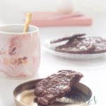 Brookies - brownie cookies with walnuts