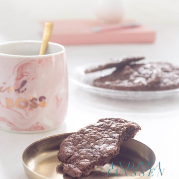 Brookies - brownie cookies with walnuts