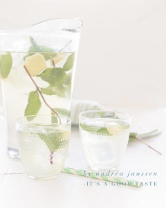 How to prepare homemade ginger iced tea