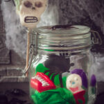 DIY Halloween gift in a jar