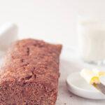 Peperkoek cake, a Dutch sweet gingerbread cake