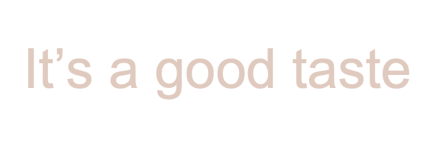 it's a good taste logo