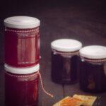 Redcurrant jam with port wine