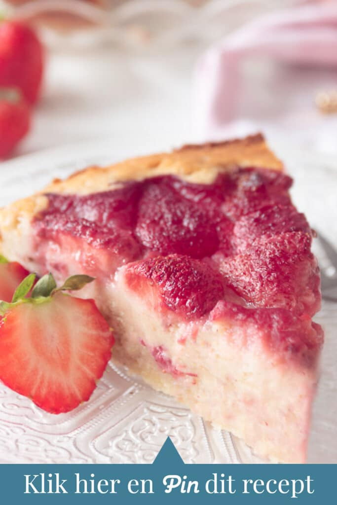 c t a aardbeien cake met ricotta
