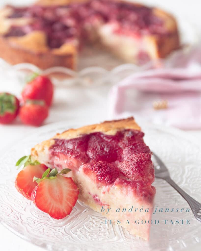 strawberry ricotta cake