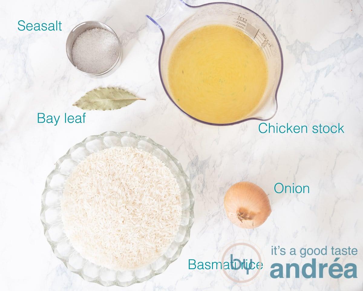Ingredients Louisiana rice
