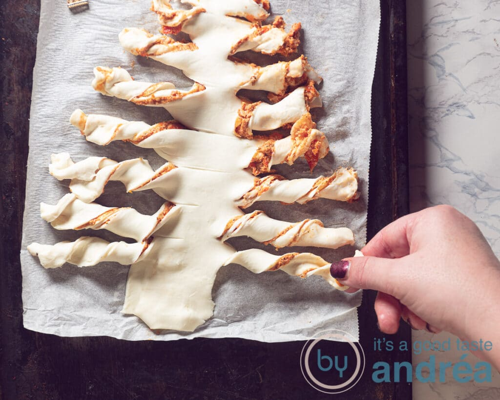 roll the puff pastry
