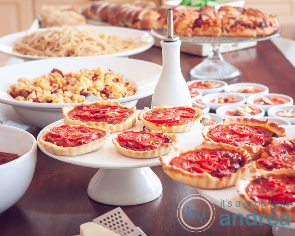 Voorkant Italiaans buffet