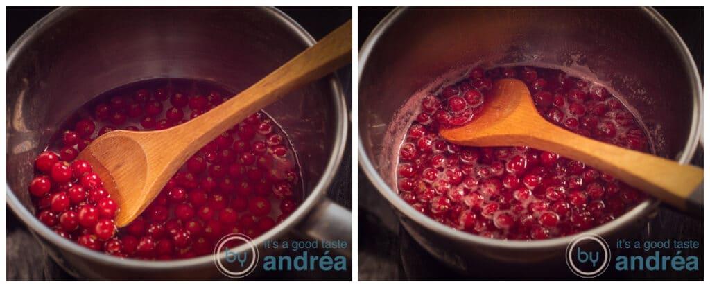 Rode bessen koken