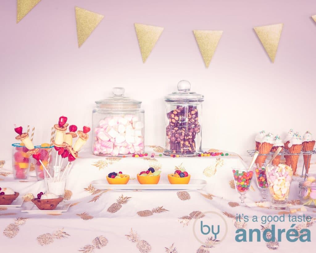 kinderfeestje feesttafel