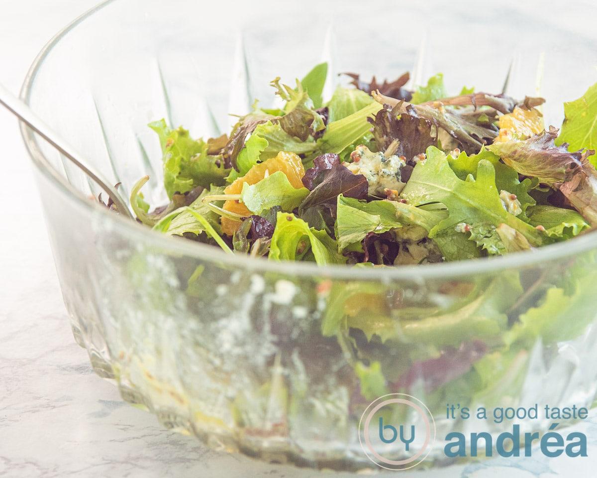assemble your orange salad